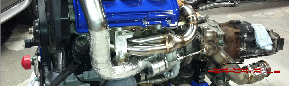 Engine rebuild and turbo installation
